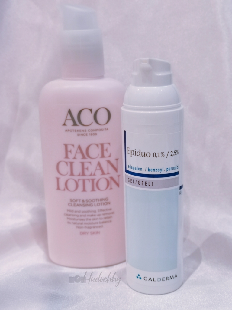 Epiduo with gentle cleanser