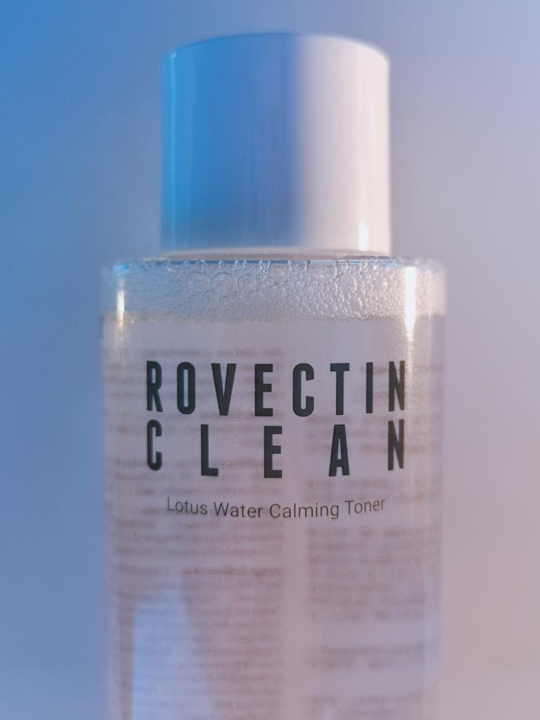 Rovectin clean lotus water calming toner